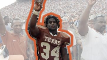 ricky williams tony dorsett