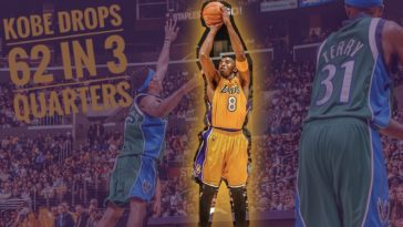 Kobe Bryant 62 Points
