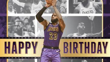 LeBron James 36th Birthday