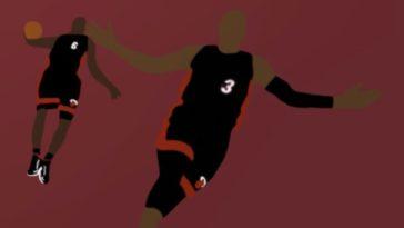 LeBron Wade Alley-Oop