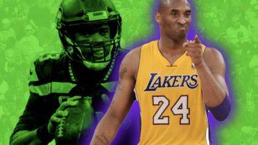 Russell Wilson Kobe Bryant Tribute