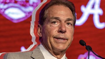 nick saban won't go to alabama