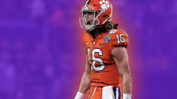 trevor lawrence CFB playoffs