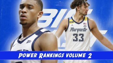 Big East Basketball Power Rankings