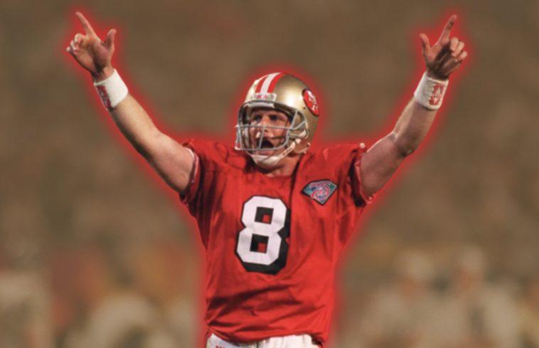 Steve Young Super Bowl 6 touchdowns