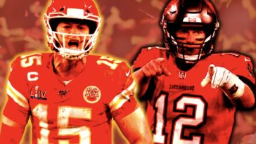 Tom Brady Patrick Mahomes Super Bowl