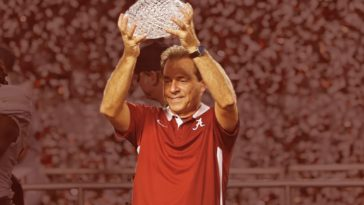 Nick Saban first national championship at Alabama