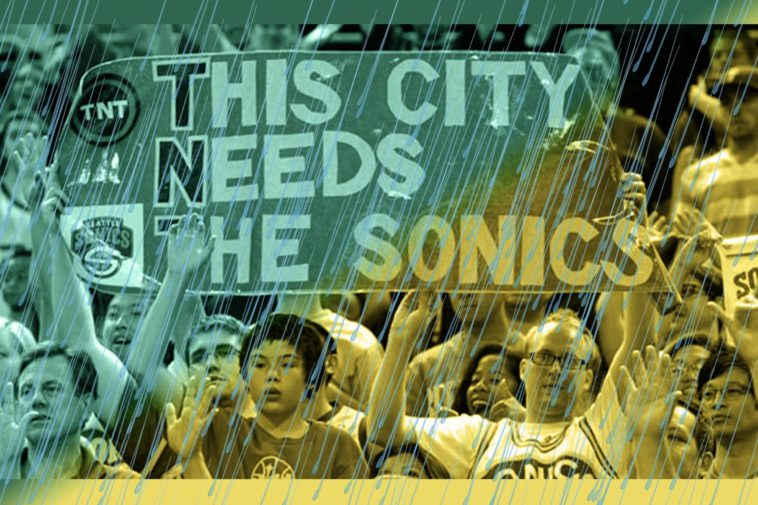seattle sonics get rained out