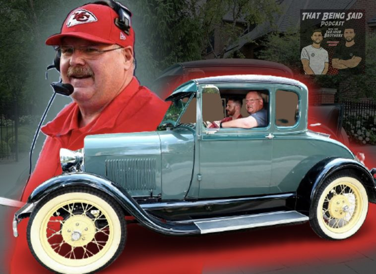 Andy Reid's Dad's Car