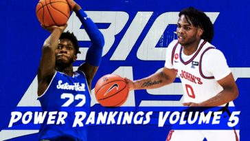 Big East Power Rankings
