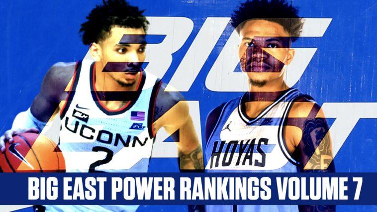 Big East Power Rankings