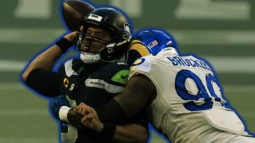 Michael Brockers Russell Wilson