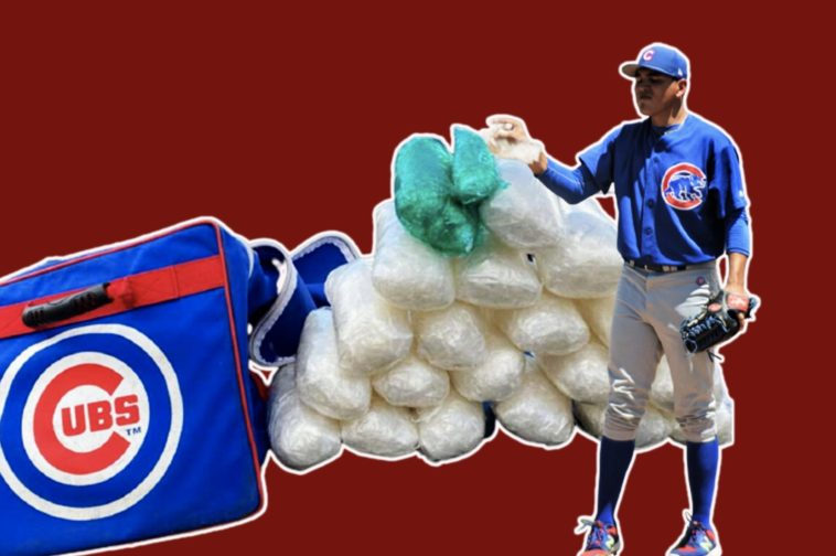 cubs player caught with drugs