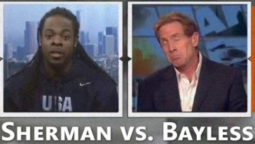 skip bayless richard sherman full interview