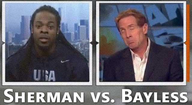 skip bayless richard sherman full interview