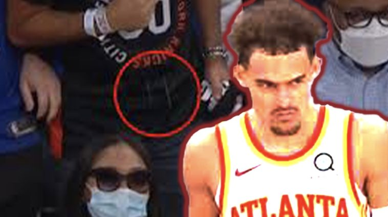trae young spit at