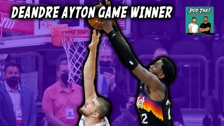 Deandre Ayton Game Winner