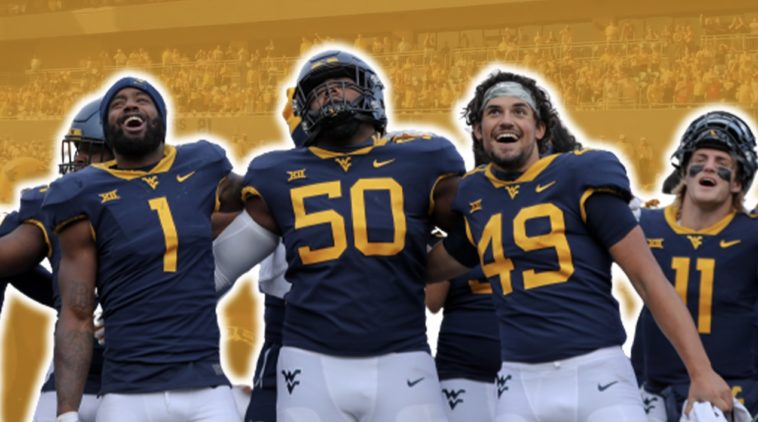 country roads west Virginia football